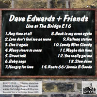 Dave Edwards back cover
