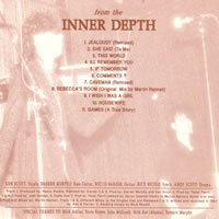 Wasted Youth - Inner depth back cover