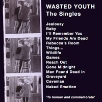 Wasted Youth - Memorialize back cover